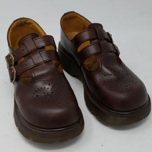 Dr. Martens 8065 Brown Mary Jane  Loafers